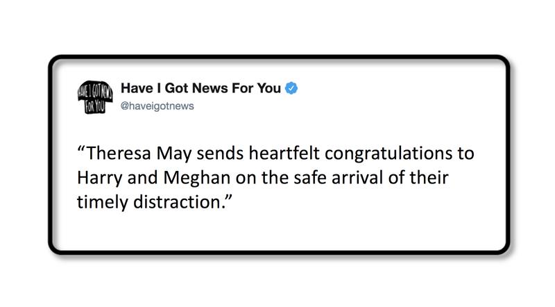 Theresa May's Respite