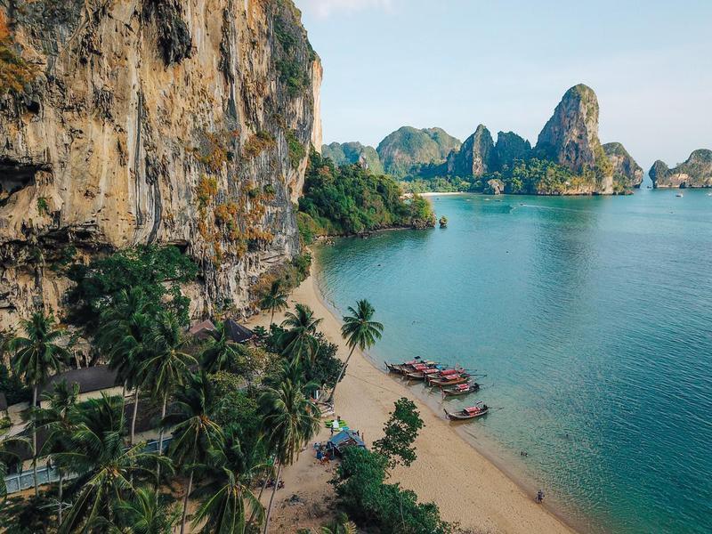 Railay beach,Thailand