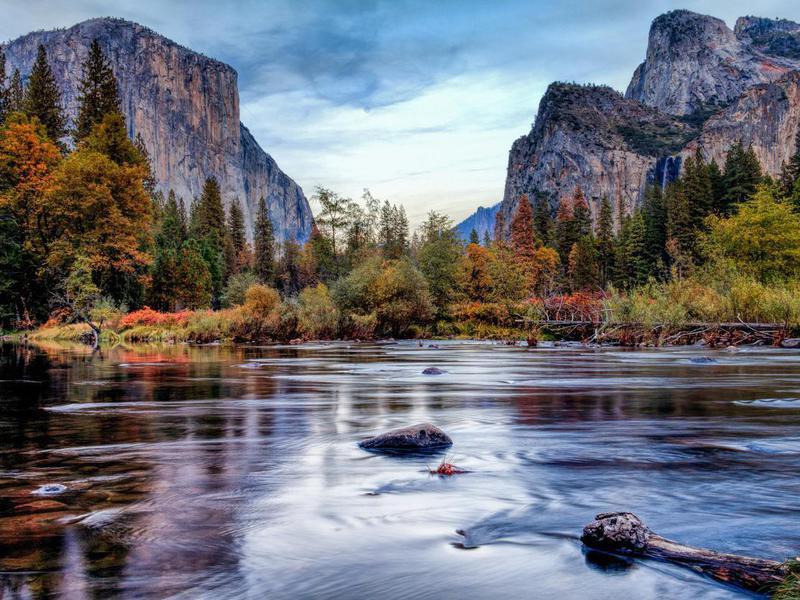 El Capitan landscape in Yosemite National Park