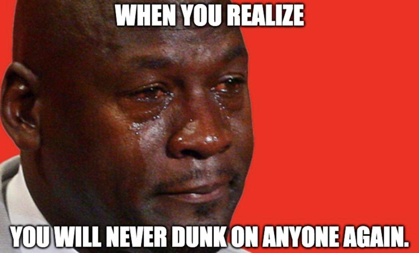 Michael Jordan at his Basketball Hall of Fame enshrinement ceremony
