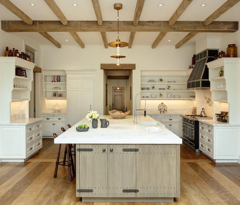Tom Brady's kitchen