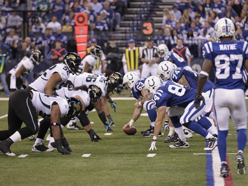 Jacksonville Jaguars defense vs. Indianapolis Colts offense