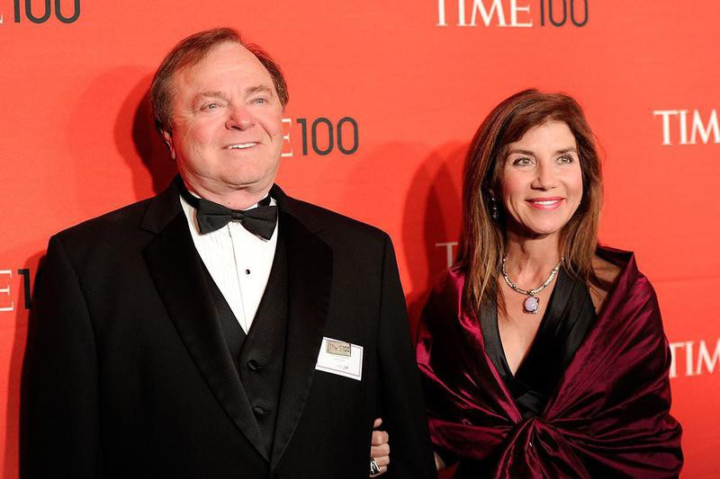Harold Hamm and his wife, Sue Ann