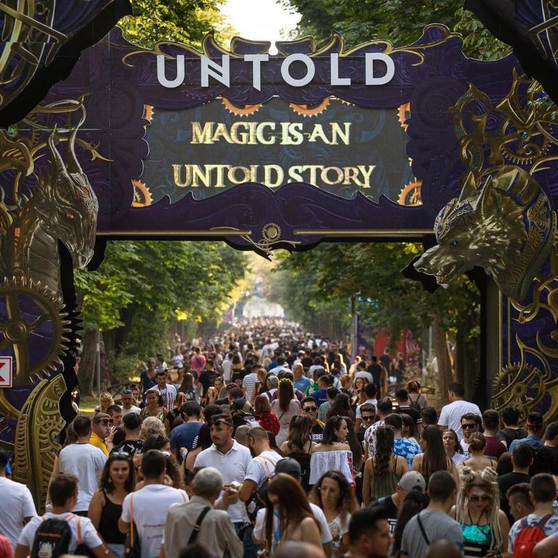 Untold Festival entrance