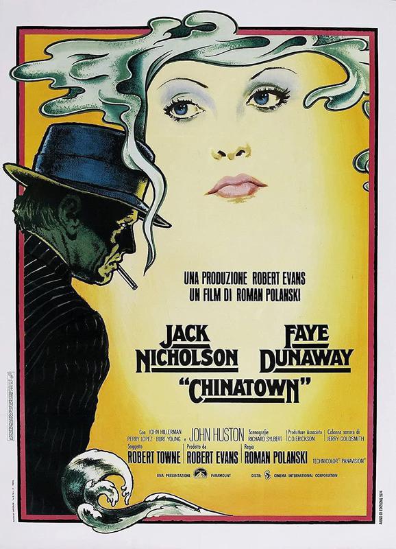 Chinatown original movie poster