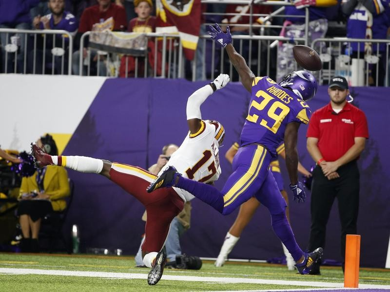Xavier Rhodes and Terry McLaurin