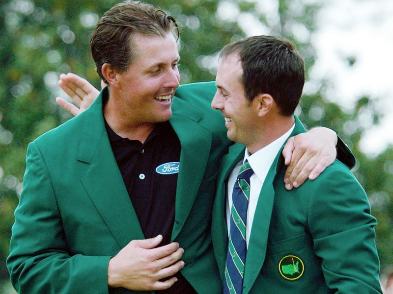 Phil Mickelson and Mike Weir