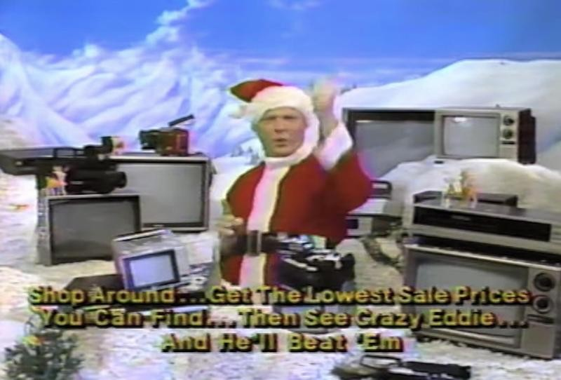 Crazy Eddie's commercial