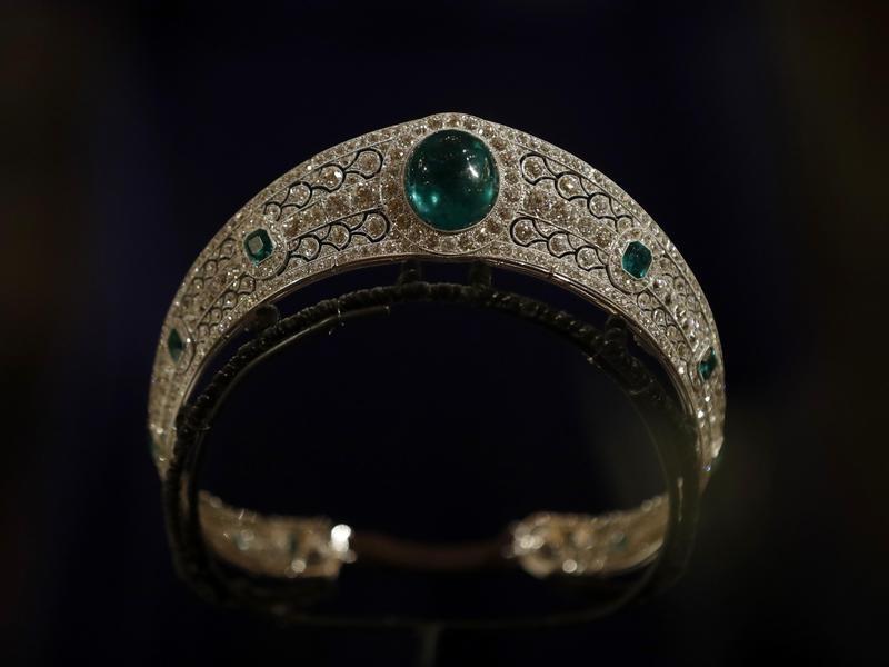 The Greville Emerald Kokoshnik Tiara