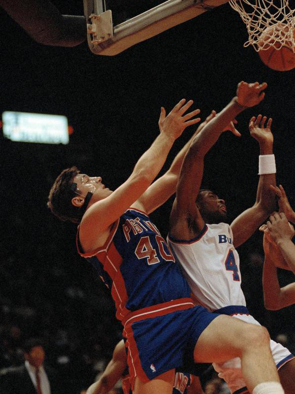 Bill Laimbeer in action