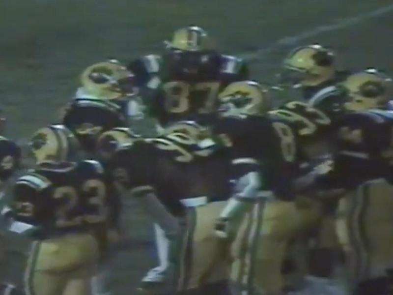 1986 Valdosta players on defense