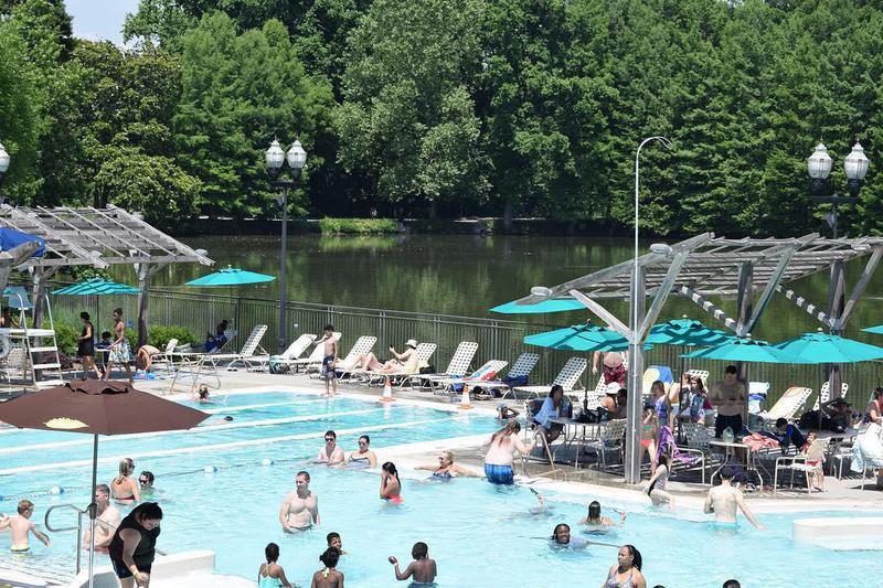 Piedmont Park pool