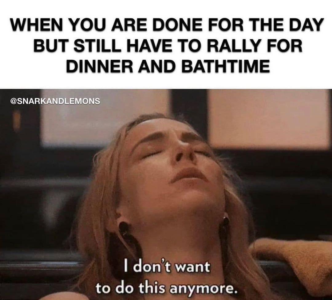 Tired mom meme
