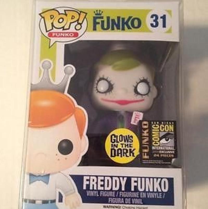 'Dark Knight' Joker Freddy Funko