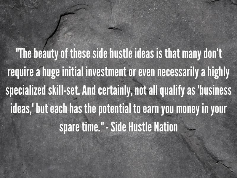 Quotes about side hustles
