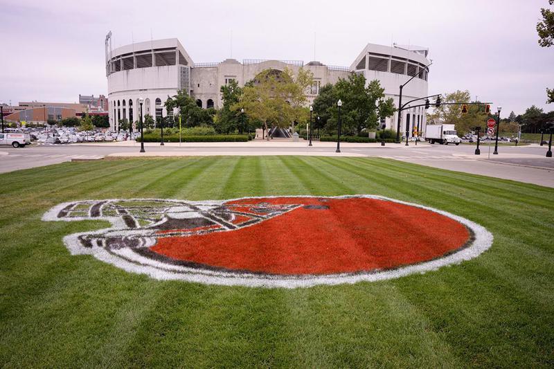 Ohio Stadium at Ohio State University