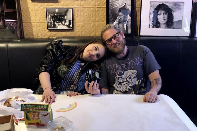 Jonah Hill and Beanie Feldstein