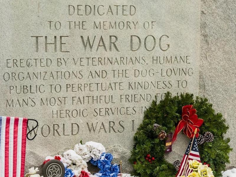War Dog Memorial in Michigan