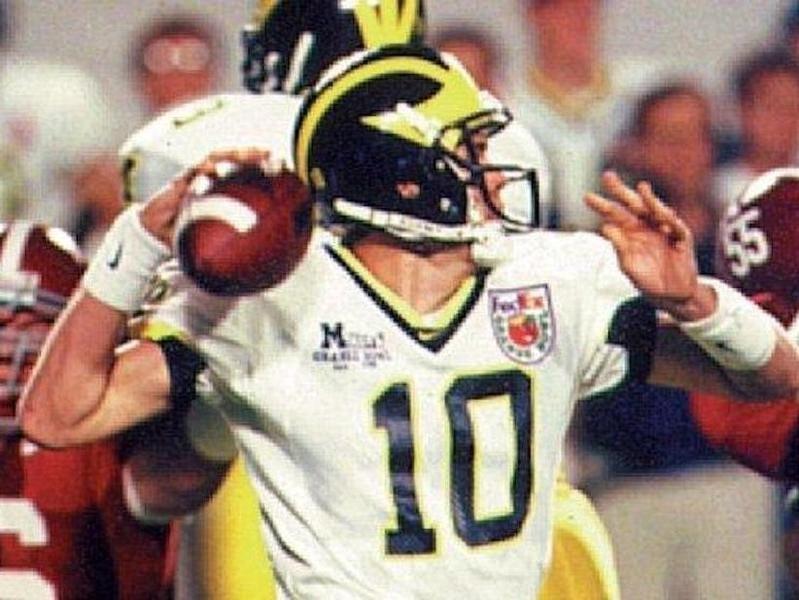 Tom Brady in the 2000 Orange Bowl