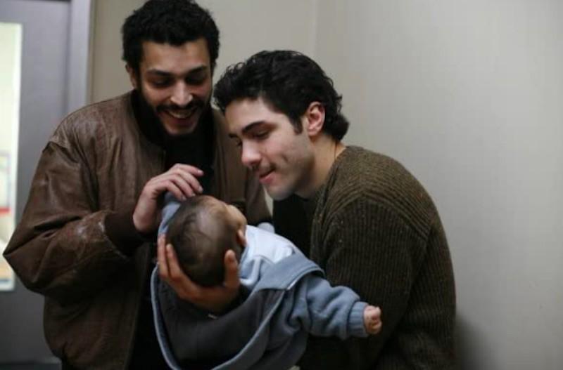 Adel Bencherif and Tahar Rahim in A Prophet