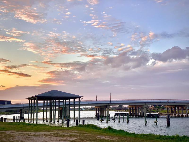 Sunset at Freeport