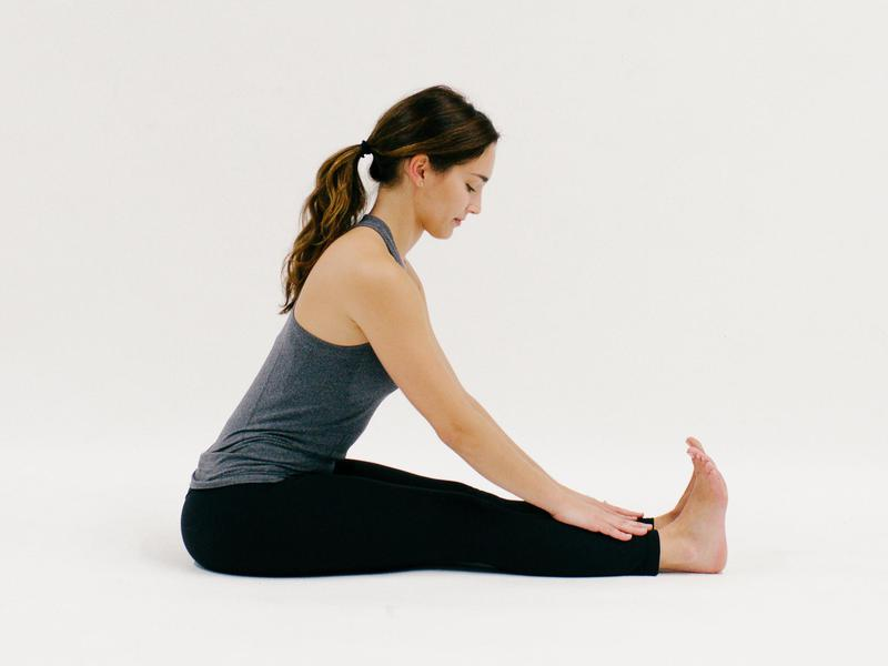 Seated Forward Fold - 10 Minutes of Yoga to Jumpstart Your Work Day  IMAGES, GIF, ANIMATED GIF, WALLPAPER, STICKER FOR WHATSAPP & FACEBOOK