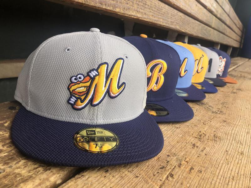 Montgomery Biscuits hats
