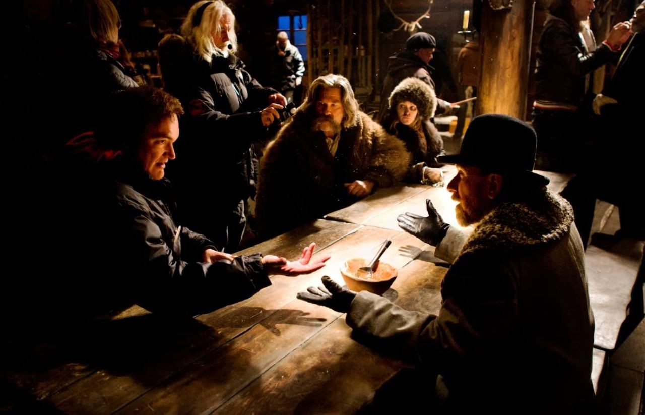Behind the scenes of The Hateful Eight