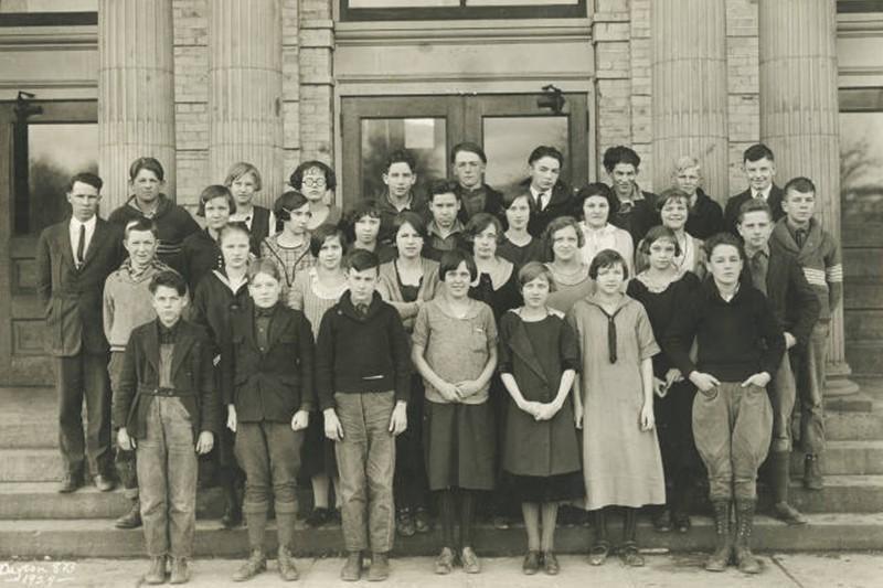 Dayton High School in Washington