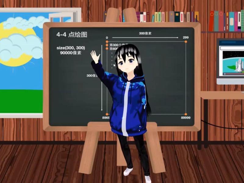 Teacher Avatar Schoolgirl