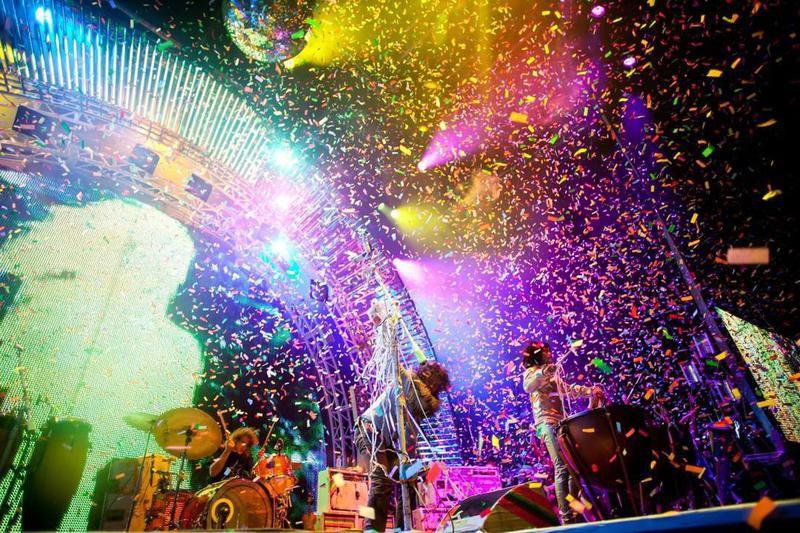 Osheaga colorful scene