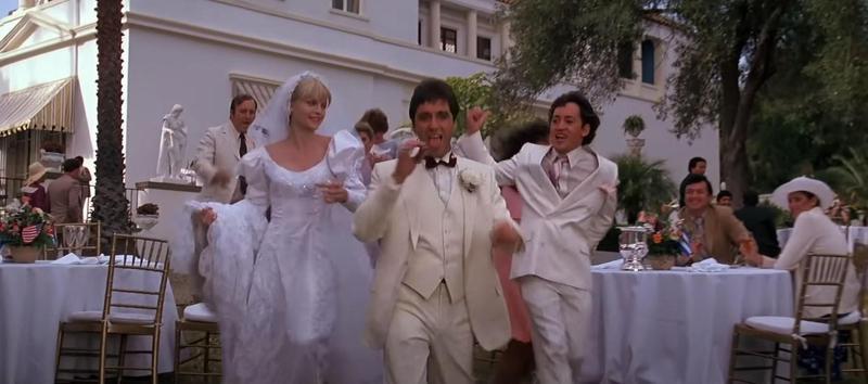 Scarface wedding scene