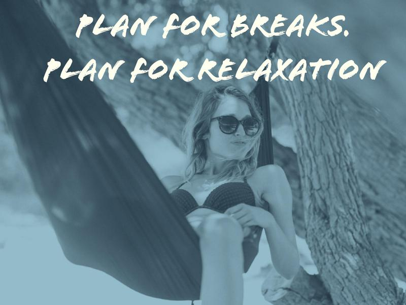 Plan Relaxation Time