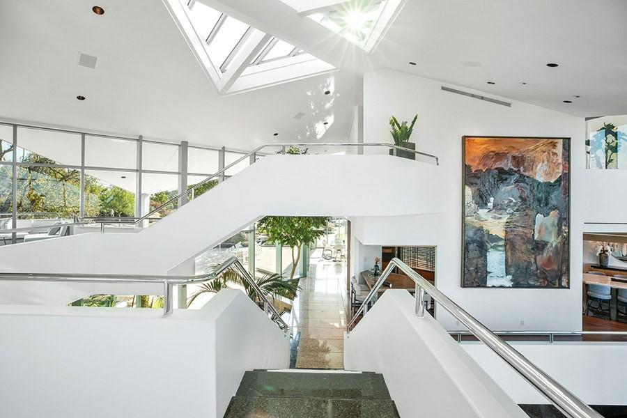 Pharrell Williams' multi-level house in Beverly Hills