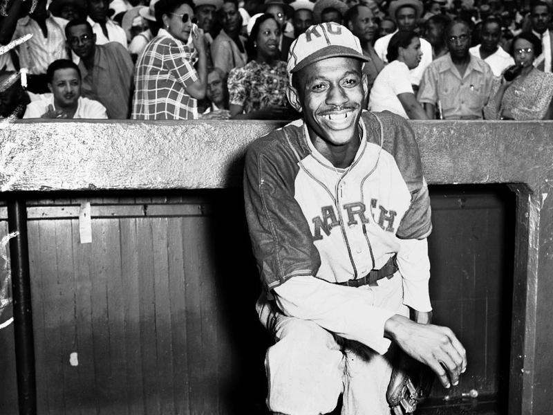Negro Leagues pitcher Satchel Paige