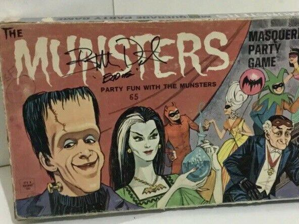 Munsters Masquerade Party Vintage Board Game