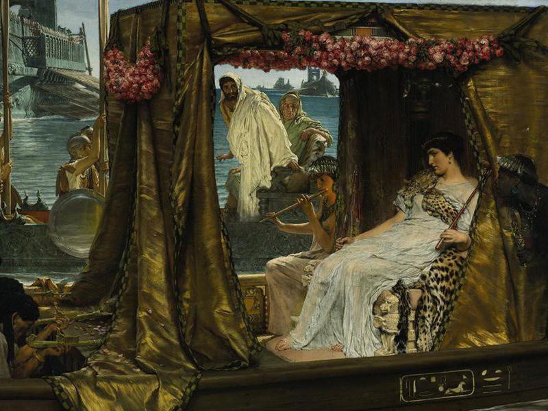 cleopatra intellectual