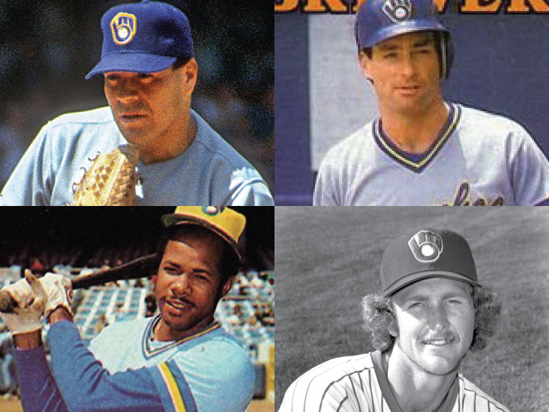 Seattle Pilots/Milwaukee Brewers Mount Rushmore