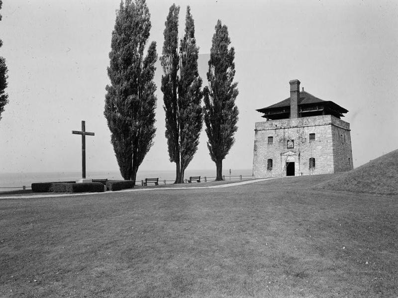 Father Millet Cross and North Redoubt, 1967