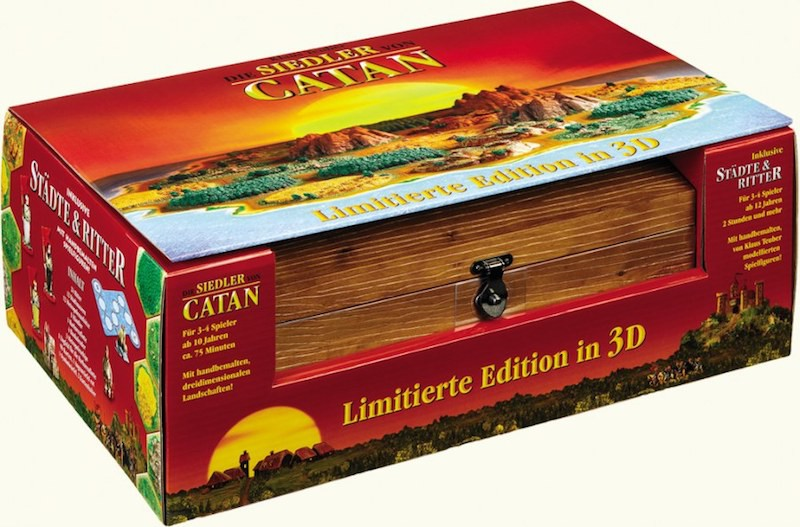 Settlers of Catan 3D Collector's Edition