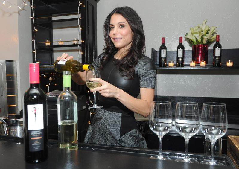 """Bethenny Frankel of """"The Real Housewives of New York City"""" introduces her Skinnygirl Cocktails' offerings to her fans in New York."""