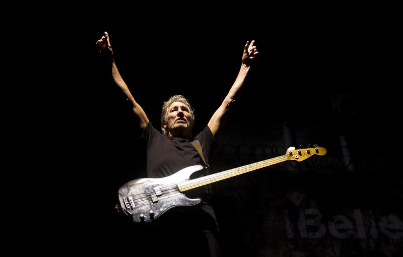 """Roger Waters performs in Rio de Janeiro, Brazil, in 2012. His song """"Money"""" with his band Pink Floyd has been a rock radio staple since its release in 1973."""
