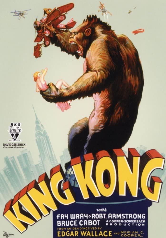 King Kong Movie 1933 movie poster