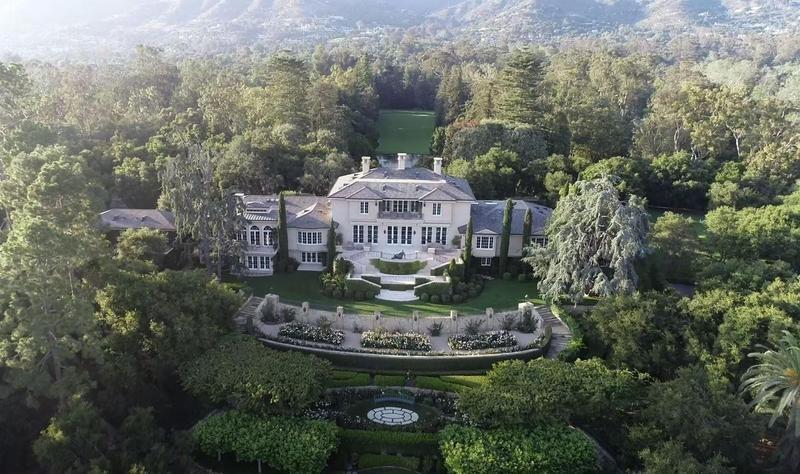 Oprah Winfrey's house in Montecito