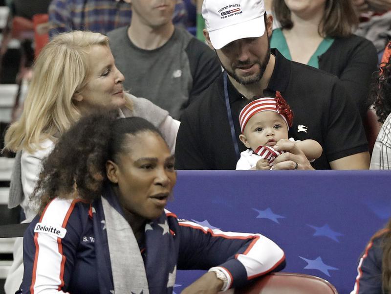 Serena Williams, Alexis Ohanian, Alexis Olympia Ohanian jr.