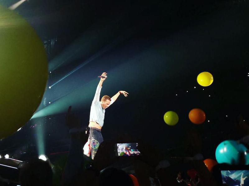 Coldplay 'A Head Full of Dreams Tour'