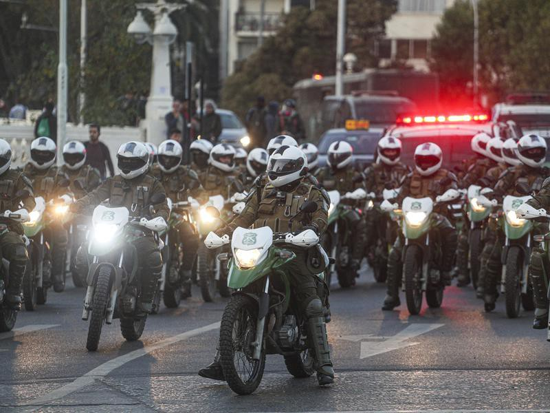 Policing in the Chile