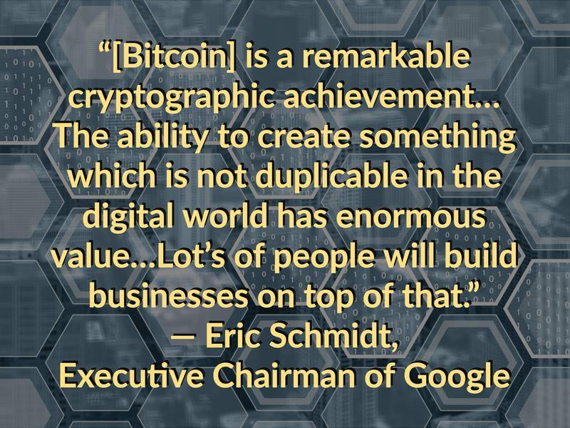 bitcoin schmidt