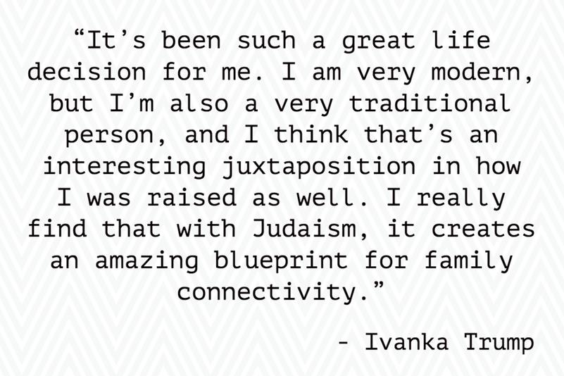 Ivanka Trump's Conversion to Judaism