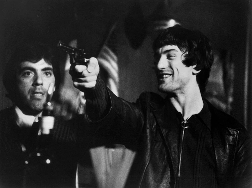 Robert De Niro and David Proval in Mean Streets